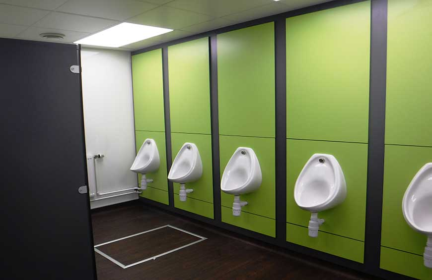 Urinals DVC