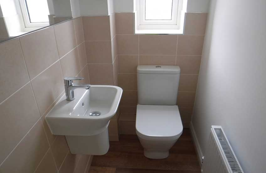New Build Bathrooms